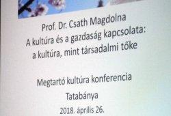 2018.04.26. - Megtartó kultúra - NMI konferencia